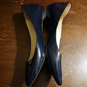 Rockport blue leather flats